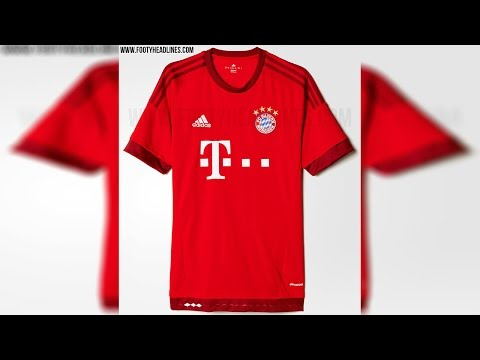 FC Bayern München 15-16 Home Kit Revealed
