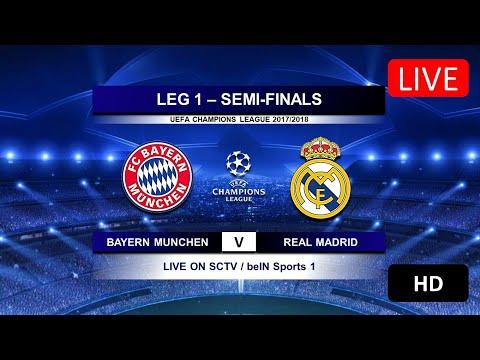 [Link LIVE STREAMING] Bayern Munchen vs Real Madrid – Leg 1 Semifinal Liga Champions