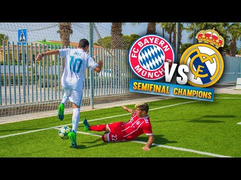 BAYERN VS REAL MADRID ¡SEMIFINAL de CHAMPIONS! Partido Fútbol