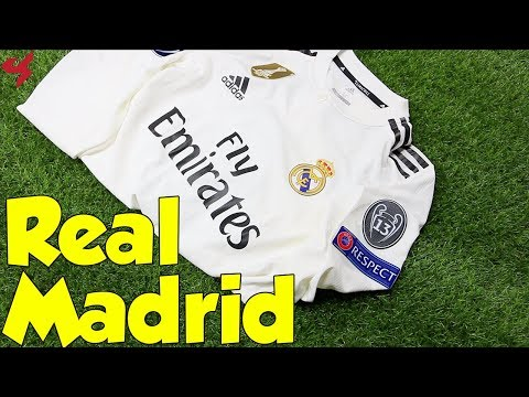 Adidas Real Madrid Sergio Ramos 2018/19 UCL Home Jersey Unboxing + Review from Subside Sports