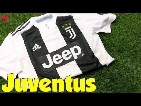 Adidas Juventus 2018/19 Home Jersey Unboxing + Review