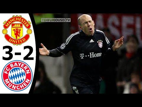 Man United vs Bayern Munich 3-2 All Goals and EXT Highlights w/ English Commentary 2009-10 HD 1080i
