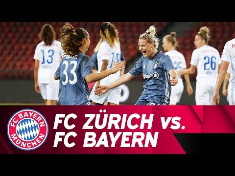 FC Zürich vs. FC Bayern 0-2 | UEFA Women's Champions League 2018/19 – Round of 16 | ReLive