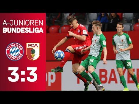 FC Bayern – FC Augsburg 3:3   A-Junioren-Bundesliga 2018/19   ReLive
