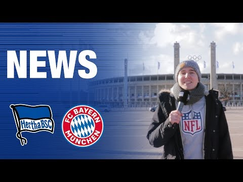 NEWS VOR BAYERN – DFB POKAL – Hertha BSC – 2019
