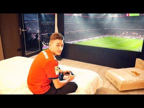Hotelzimmer im Stadion vom FC Bayern