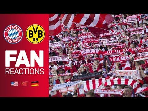 Fan Reactions From Around the World | FC Bayern vs. Borussia Dortmund 5-0