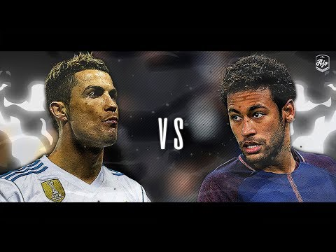 Neymar Jr. vs Cristiano Ronaldo 2018 – Real Madrid vs PSG 3-1 | HD