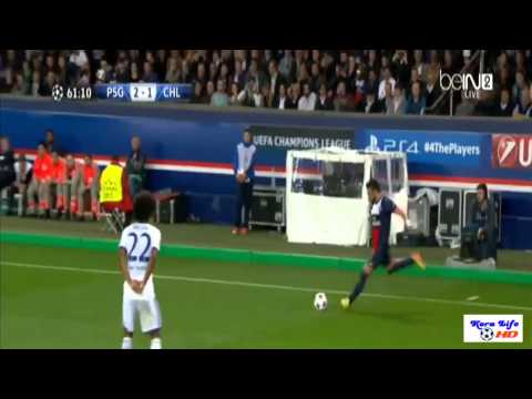 PSG vs Chelsea 3-1 All Highlights París Saint-Germain 3-1 Chelsea Champions League 02.04.2014