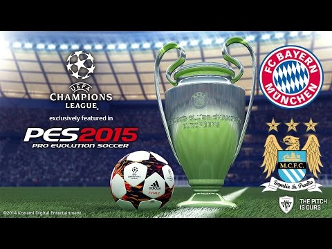 PES 2015 UEFA Champions League FC Bayern Munchen vs Manchester City F.C. Group stage 3