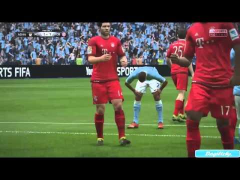 Fifa 16 Gameplay – FC Bayern Munich vs Manchester City – HD (PS4/XboxOne)