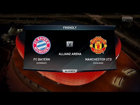 FIFA 16 | Bayern Munich vs Manchester United – Full Gameplay (PS4/Xbox One)