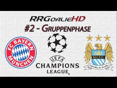 PES 2014 Champions League #2 | Gruppenphase | FC Bayern München vs Manchester City | RRGoalieHD