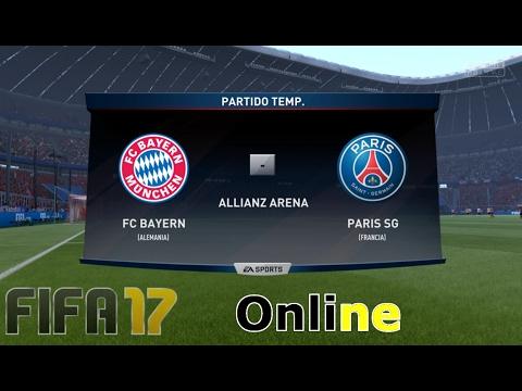 PSG vs Bayern Munich /Temporadas Online / FIFA 17