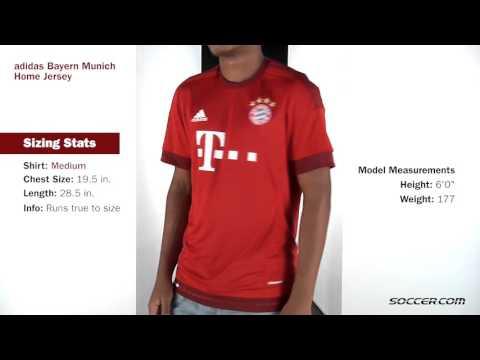 adidas Bayern Munich Home Jersey 15 16