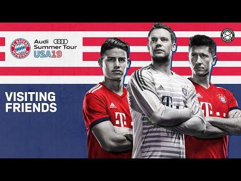 James Rodríguez, Alphonso Davies & Co. plan FC Bayern's US-Tour 2019!