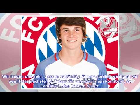 FC Bayern verpflichtet US-Boy Anthony Booth