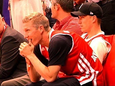 Schweini leidet: FC Bayern unterliegt Artland Dragons