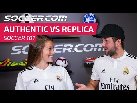 18/19 Authentic vs. Replica Soccer Jerseys From Top Clubs