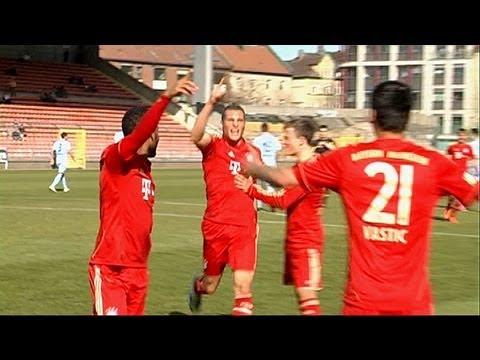 FC Bayern II gewinnen im Grünwalder