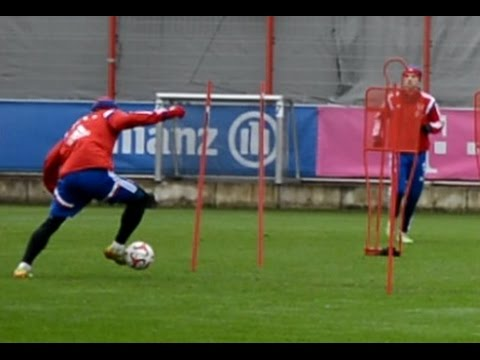 Dribblings • Shooting training • Saves || FC Bayern Munich – Ribery Guardiola