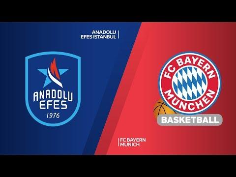 Anadolu Efes Istanbul – FC Bayern Munich Highlights | Turkish Airlines EuroLeague RS Round 16