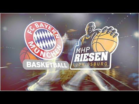 BBL: FC Bayern München – MHP RIESEN Ludwigsburg LIVE im TV, Stream und Ticker