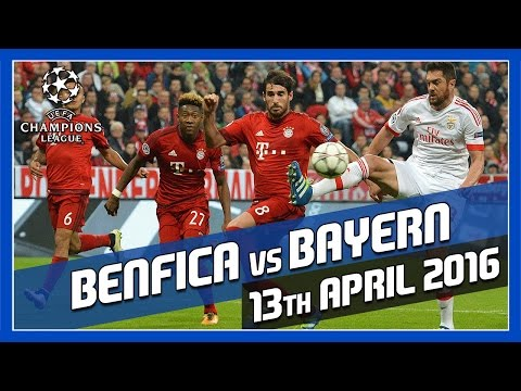 Benfica vs. Bayern Munich – 13th April 2016 – Match Prediction w/ FIFA 16