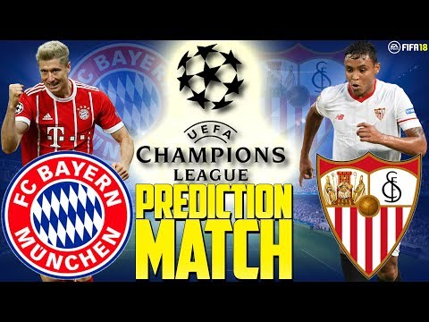 Prediction Match | Bayern Munich vs Sevilla FC | Champions League Quarter Final 2nd Leg | FIFA 18