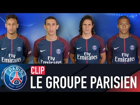 LE GROUPE PARISIEN / PARIS SQUAD : BAYERN MUNICH vs PARIS SAINT-GERMAIN