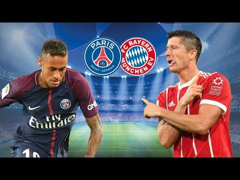 Bayern Munchen vs PSG LIVE CHAMPIONS LEAGUE MATCH – 5/12/17