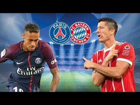 Bayern Munchen vs PSG LIVE CHAMPIONS LEAGUE MATCH – 5/12/17