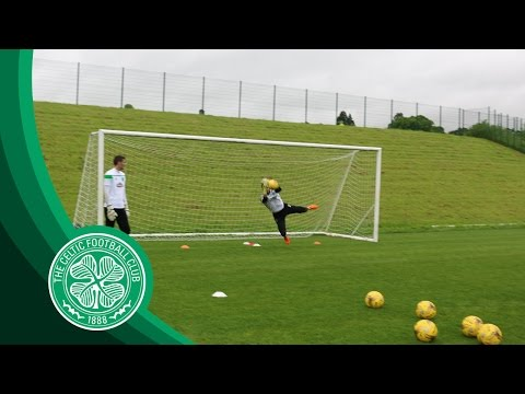 Celtic FC – Goalkeeper Training