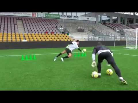Andreas Fischer Goalkeeper Training 2018