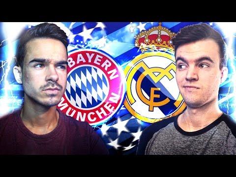Real Madrid VS. FC Bayern München VS. FifaGoalsUnited