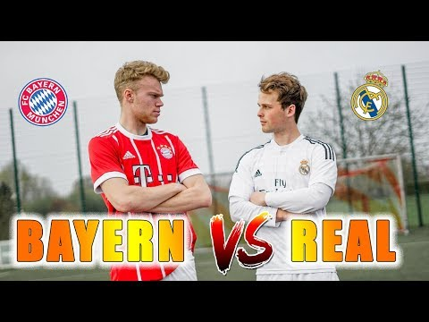 REAL MADRID vs BAYERN MÜNCHEN – Champions League Challenges
