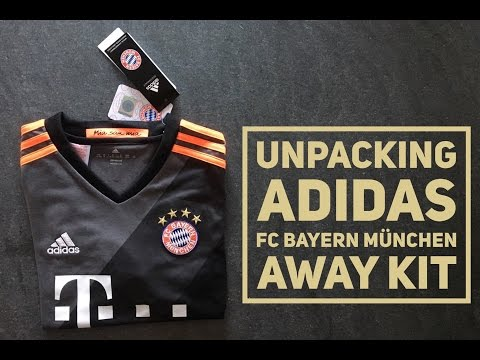 Adidas FC Bayern München Jersey Away Kit | UNPACKING | Season Bundesliga 2016/2017 | HD