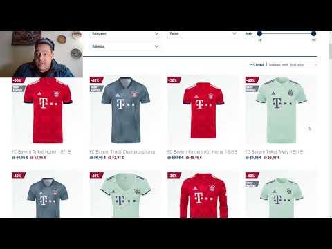 FC Bayern Trikot Sale Februar 2019