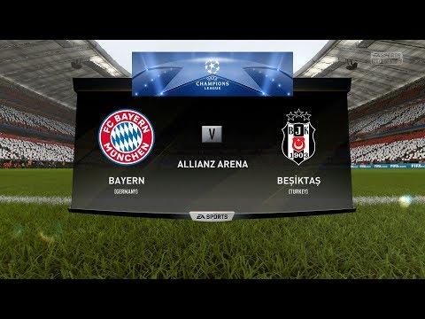 FC Bayern München vs Beşiktaş JK – UEFA Champions League – FIFA 18 PS4 Gameplay