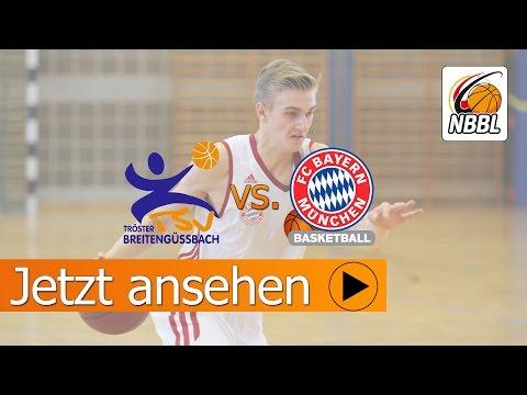 FC Bayern schlägt Breitengüßbach im NBBL-Spitzenspiel