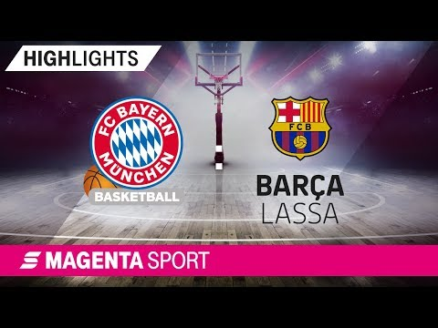 FC Bayern Basketball – FC Barcelona Lassa | 28. Spieltag, 18/19 | MAGENTA SPORT