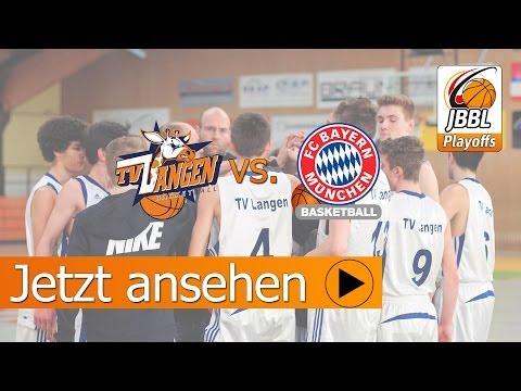 #JBBL Playoffs zwischen dem TV 1862 Langen und dem FC Bayern München