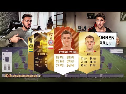 FIFA 18: Pokal Bayern vs BVB Squad Builder Battle 🤑😍Fifagaming vs Wakez😱