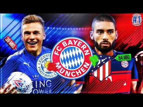 Der START!! 🔥🔥 Neuer REKORDTRANSFER 💸 & KIMMICH zu LEICESTER!?? 😱 – FIFA 18 FC Bayern Karriere #1