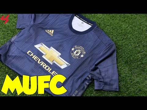 Adidas Manchester United 2018/19 Third Jersey Unboxing + Review