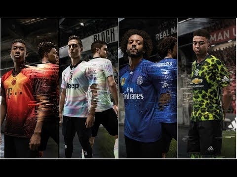Adidas EA Sports Kits | Bayern, Juventus, Man United, Real Madrid FIFA Kits