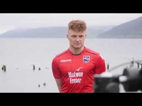 Ross County Football Club 2018/19 kit launch with McEwan Fraser Legal