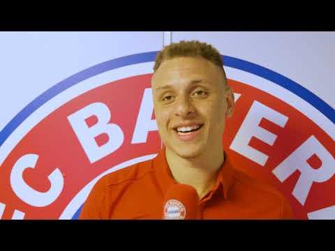 Der 1. Tag von Robin Amaize beim FC Bayern Basketball