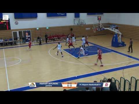 ProB Heimspiel der FRAPORT SKYLINERS Juniors gegen FC Bayern Basketball II
