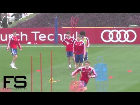 FC Bayern Munich Training Camp Doha 2015 – Training 1